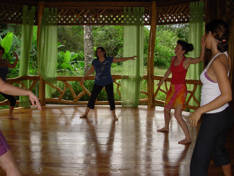 Tina Teaching NIA in Costa Rica