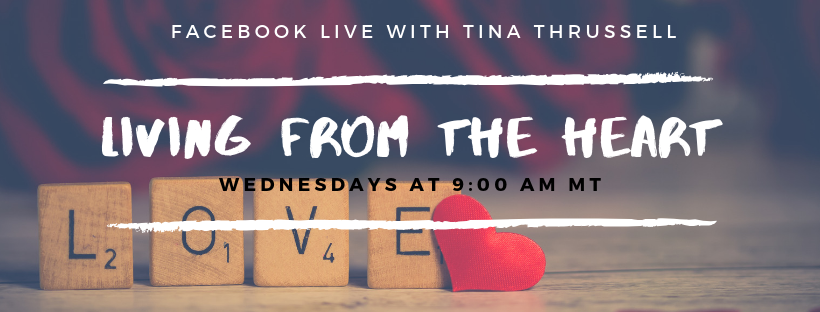 Living from the Heart – FB Live Show