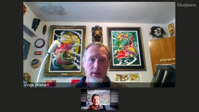 Spiritual Warrior's Wisdom – Episode 10 Vince Vin-Zen Wishart and Neil Thrussell