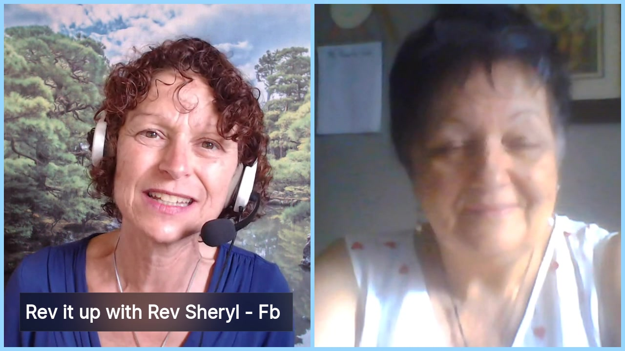 Living from the Heart Episode 4:  The Aug 14 episode of this 15-30 minute Live Show Celebrates living with Purpose and Passion with the fun-loving, playful and passionate Rev Sheryl Hinds. Tune in for…