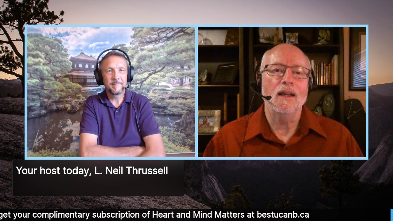 Living from the Heart Episode 10 with Woody Forrieter:  The Sept 25 episode of this 15-30 minute Live Show Celebrates living with Purpose and Passion with the well-loved Neil Thrussell acting as your …