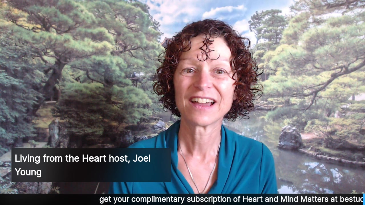 Living from the Heart Episode 7 with Joel Young: Sept 4, 2019.  This 30 minute Live Show Celebrates living with Purpose and Passion with the refreshingly honest Joel Young. Tune in for Joel's real, …