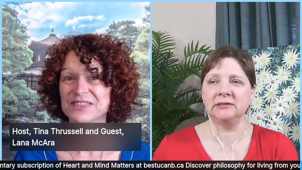 Living from the Heart Episode 19 with Lana McAra:  Dec 4, 2019.  When you listen to your heart, your life can take an interesting turn! Tune is as your engaging host, Tina Thrussell, chats with the aw…