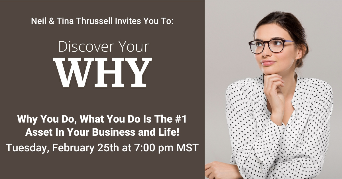 Discover Your WHY – Webinar
