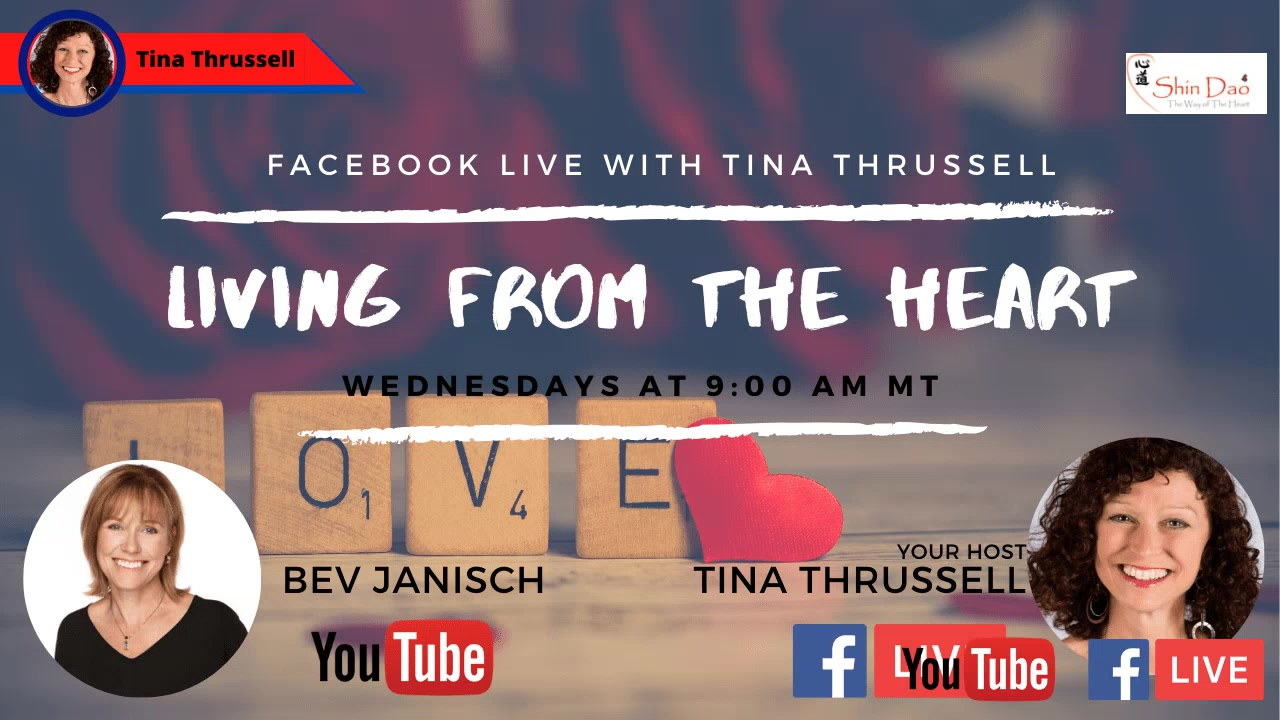 April 29, 2020. Living from the Heart Episode 35 with guest, Bev Janisch.