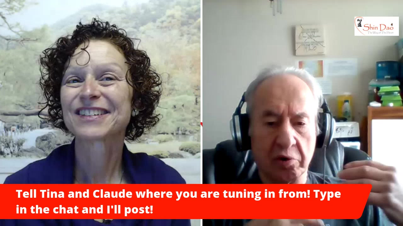 Living From The Heart – Episode  32 with Claude Pellerin